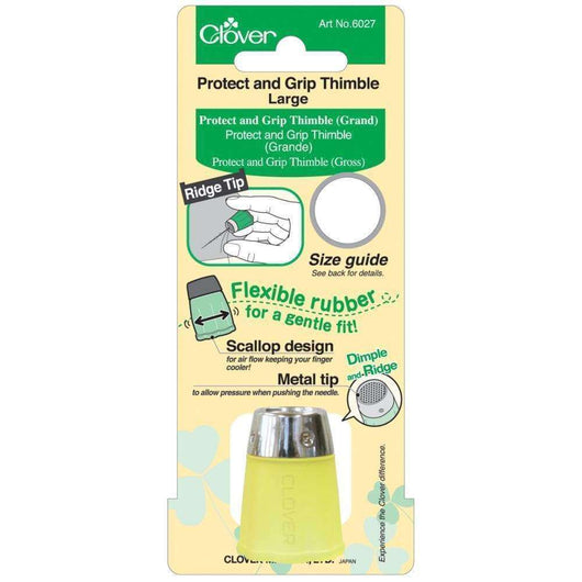 Clover Protect & Grip Thimble Large - A Plus Craft