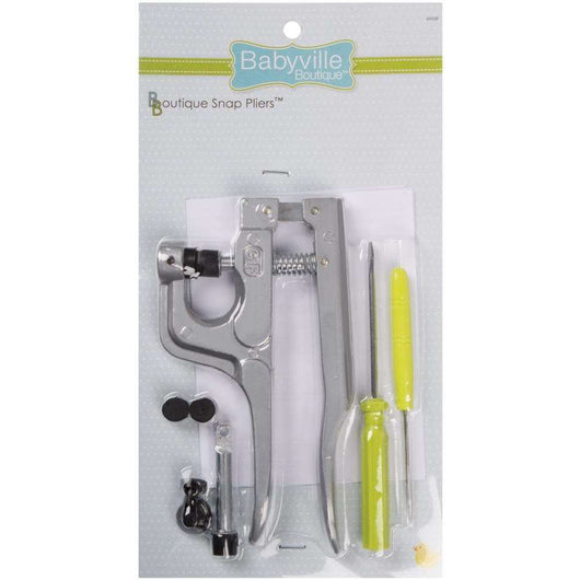 Babyville Boutique Snap Pliers - A Plus Craft