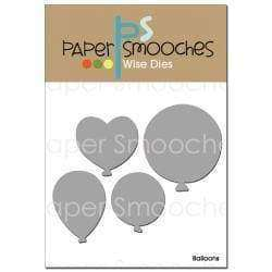 Paper Smooches Dies Balloons - A Plus Craft