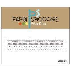 Paper Smooches Dies Borders 2 - A Plus Craft