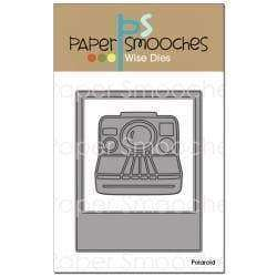 Paper Smooches Dies Polaroid - A Plus Craft