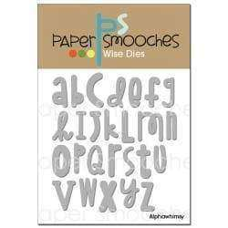 Paper Smooches Dies Alphawhimsy - A Plus Craft