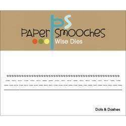 Paper Smooches Dies Dots & Dashes - A Plus Craft