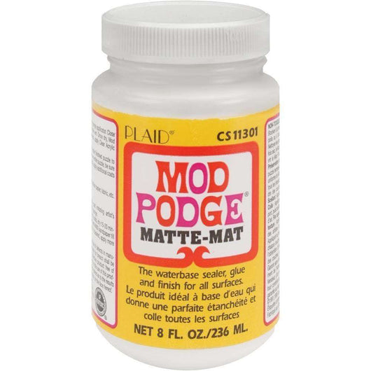 Mod Podge Matte Finish 8oz - A Plus Craft
