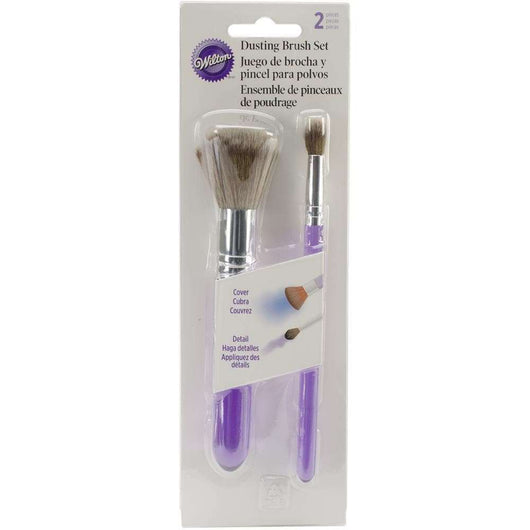 Wilton Dusting Brush Set 2/Pkg - A Plus Craft
