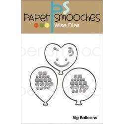 Paper Smooches Dies Big Balloons - A Plus Craft