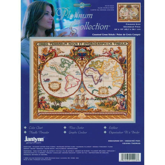 Janlynn/Platinum Collection Counted Cross Stitch 18
