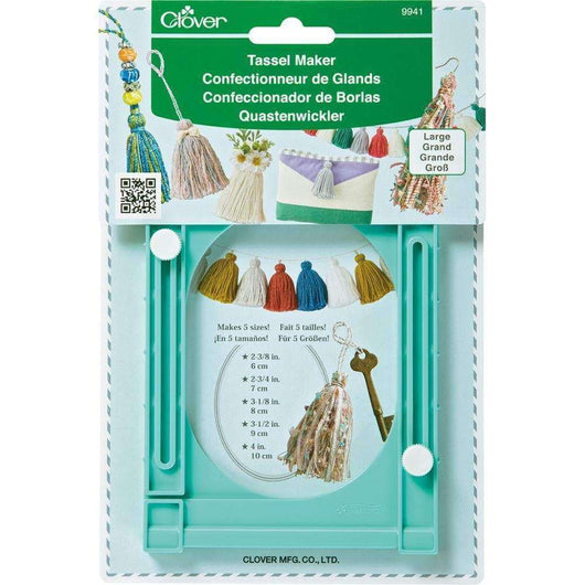 Clover Large Tassel Maker - A Plus Craft