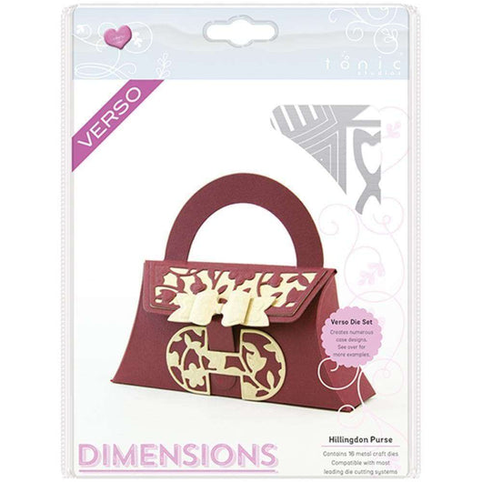 Tonic Studios Dimensions Dies Hillingdon Purse - A Plus Craft