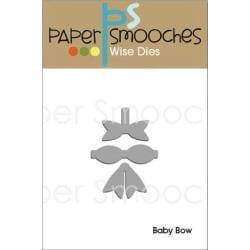 Paper Smooches Dies Baby Bow - A Plus Craft