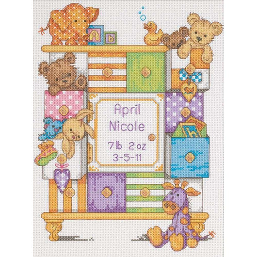 Dimensions/Baby Hugs Counted Cross Stitch Kit 9