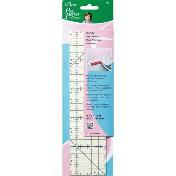 Clover Press Perfect By Joan Hawley Hot Ruler 2.5