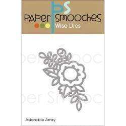 Paper Smooches Dies Adorable Array - A Plus Craft