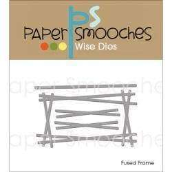 Paper Smooches Dies Fused Frame - A Plus Craft