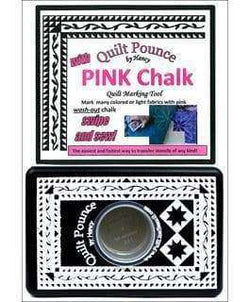 Hancy Ultimate Quilt Pounce Pad W/Chalk Powder----Pink - A Plus Craft