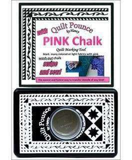 Hancy Ultimate Quilt Pounce Pad W/Chalk Powder----Pink