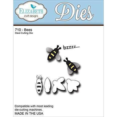 Elizabeth Craft Metal Die Bees, .80