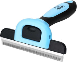 Pet Grooming Brush Effectively Reduces Shedding by Up to 95% Professional Deshedding Tool for Dogs and Cats - A Plus Craft