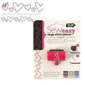 We R Memory Keepers 71094-3 Stitch Piercer for Paper Crafting, Hearts - A Plus Craft