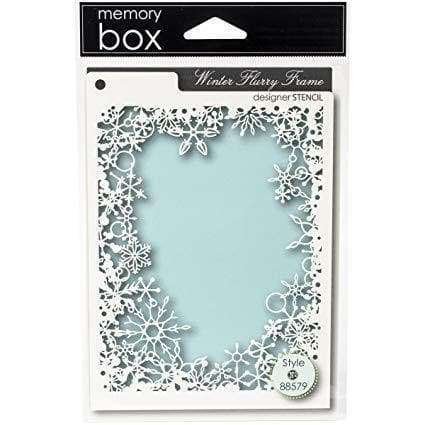 Memory Box Die Flurry Flame - A Plus Craft