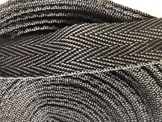 25 meters black colour webbing - A Plus Craft