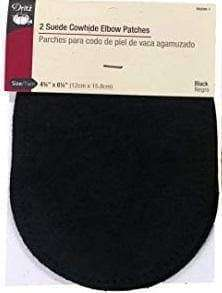 Dritz Suede Elbow Patches 4-3/4