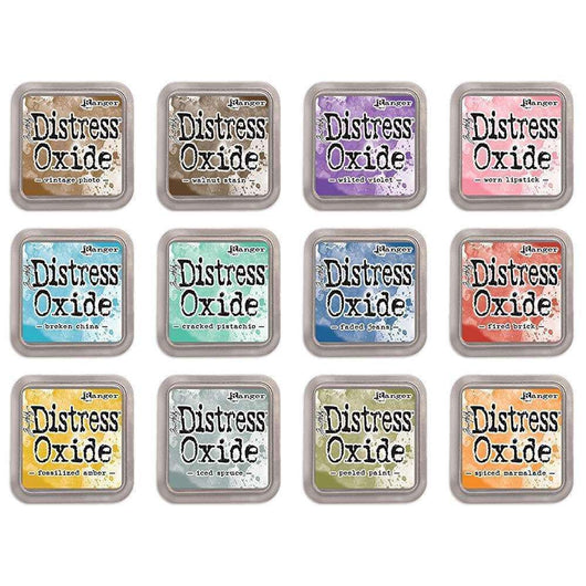 Tim Holtz Distress Oxides Ink Pads 12 pads Set 1 - A Plus Craft