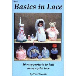 Basics in Lace : 16 Easy Projects to Knit Using Eyelet Lace - A Plus Craft
