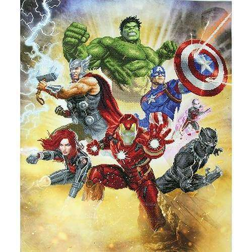 Diamond Dotz Marvel – Avengers Assemble - A Plus Craft