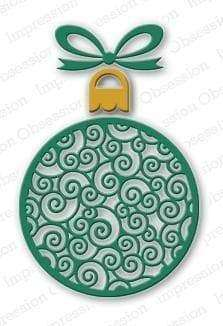 Impression Obsession dies Fancy Ornament Die Set - A Plus Craft
