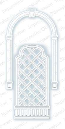 Impression Obsession dies Arch and Trellis - A Plus Craft