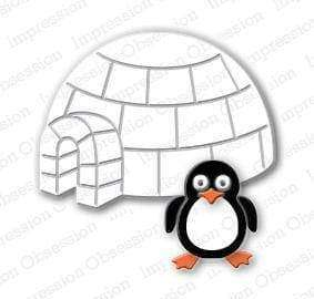 Impression Obsession dies Penguin & Igloo - A Plus Craft