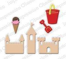 Impression Obsession dies Mini Beach Fun Set - A Plus Craft