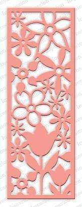 Impression Obsession dies Floral Panel Cutout - A Plus Craft