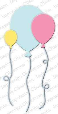 Impression Obsession dies Balloons - A Plus Craft