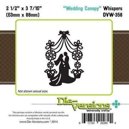 Die-Versions - Whispers - Wedding Canopy - A Plus Craft