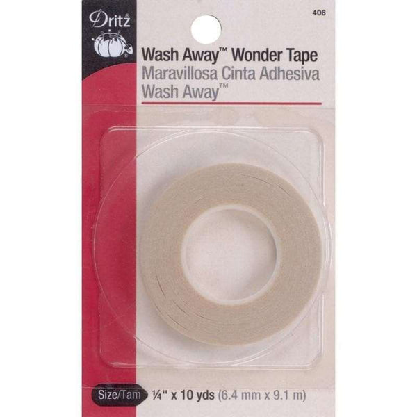 Dritz Wash Away Wonder Tape 1/4