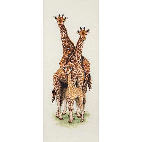 Anchor Essential Kits: Cross Stitch – Giraffe Family - A Plus Craft