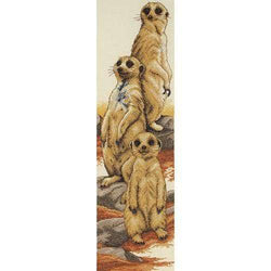Anchor Essential Kits: Cross Stitch – Meerkats - A Plus Craft