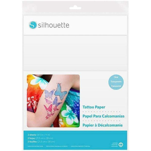 Silhouette Temporary Tattoo Paper - A Plus Craft