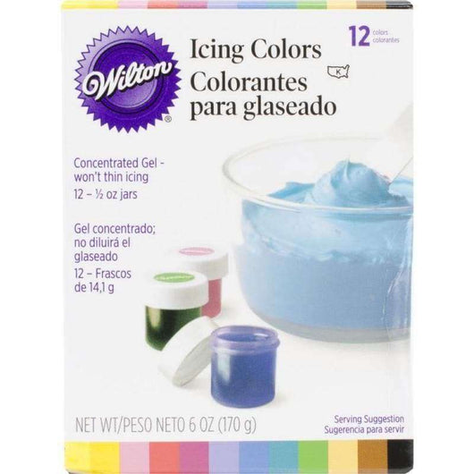 Wilton Icing Colors, Gel-Based Food Color - A Plus Craft