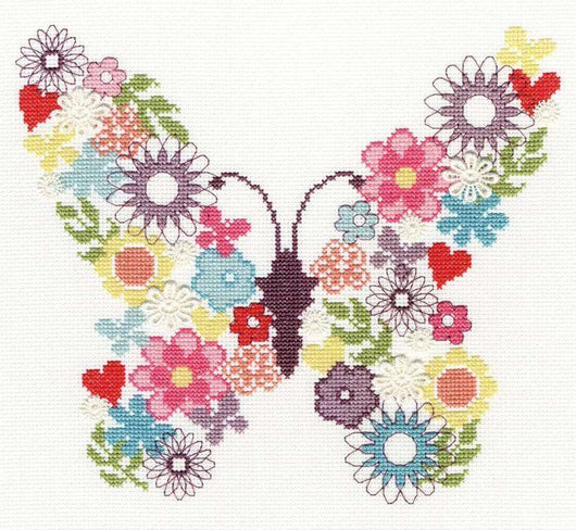 Bothy Threads--Butterfly Bouquet - A Plus Craft