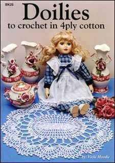 Doilies to crochet in 4ply cotton - A Plus Craft