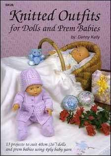 Knitted Outfits Dolls & Prem babies - A Plus Craft