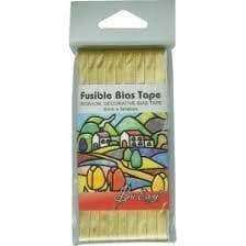 Sew Easy Gold colour Iron On Fusible Bias Tape - A Plus Craft