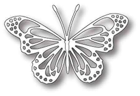 Memory Box Die Lunette Butterfly - A Plus Craft