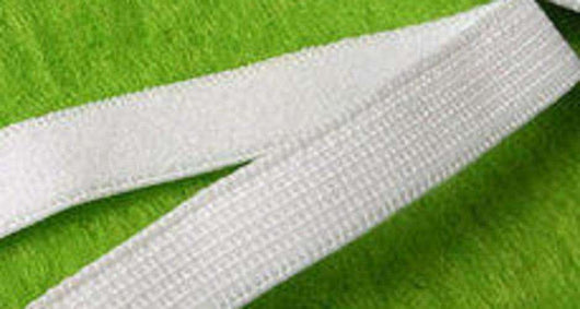 11mm Spandex / lycra elastic White  (50 meters) - A Plus Craft