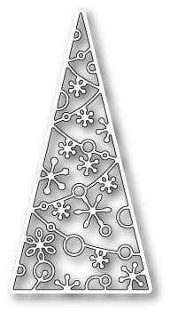 Memory Box Die Sparkling Tree Tile - A Plus Craft
