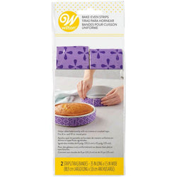 Wilton Bake Even Cake Strips - 2 Pack
