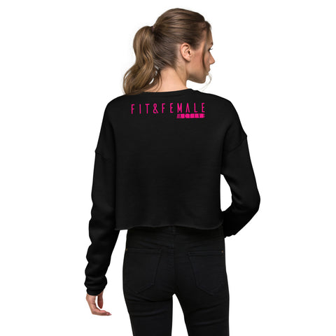 Three Feels Crop Sweatshirt